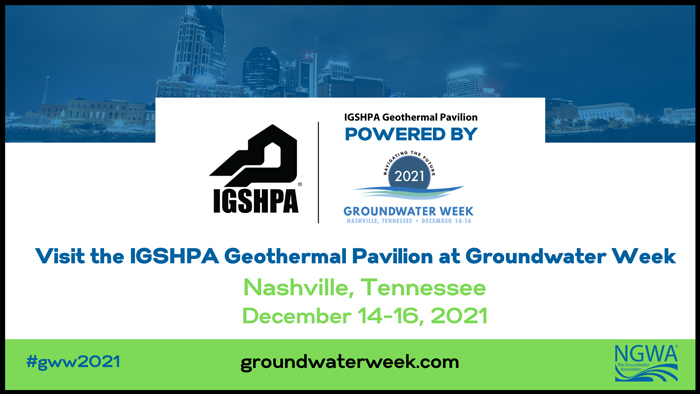 IGSHPA is back and we're headed to Music City! Join us for the IGSHPA 2021 Conference & Expo in Nashville, Dec. 14-16.