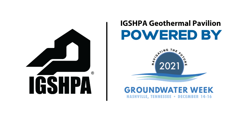 IGSHPA Geothermal Pavilion, Powered by 2021 Groundwater Week, Nashville, Tennessee, December 14-16, 2021
